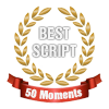 50 moments best script