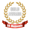 50 moments gold