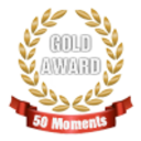 Small 50 moments gold