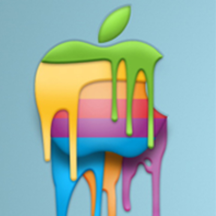 Normal apple liquid