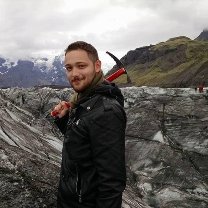 Normal hiking glacier
