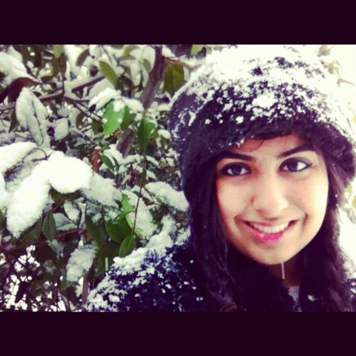 Normal me in the snow